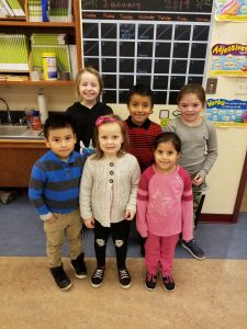 2018 December Students of the Month